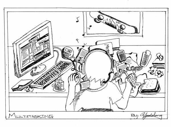 Yao- cartoon-multitasking