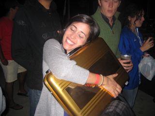 Picture - Kim Briefcase Hug